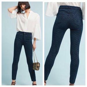 Anthropologie Pilcro skinny Jacquard Jeans